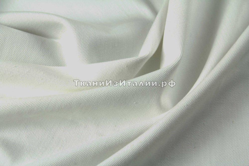 белая джинса ткань купить